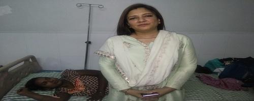 बिगड़ चुका था केस, हो सकती थी महिला की मौत पर डॉ. सारिका ने बचाई जान